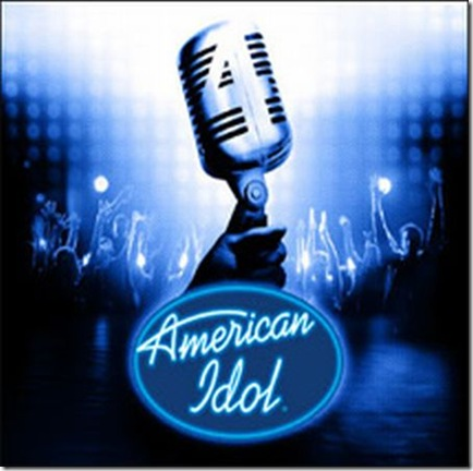 american idol logo. Wrong with American Idol?
