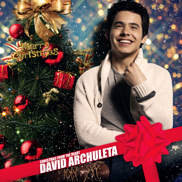 David Archuleta - Christmas From The Heart (FanMade Album Cover) Made by TOBEY